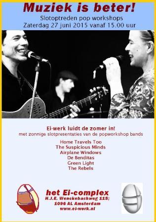 Flyer van de slotpresentatie van 27 juni 2015